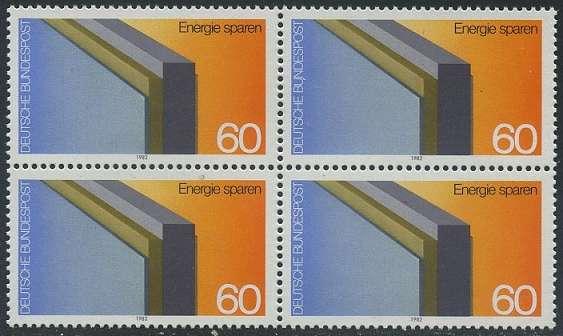 BUND 1982 Michel-Nummer 1119 postfrisch BLOCK