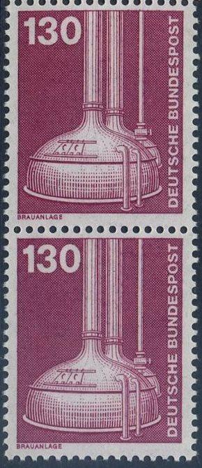 BUND 1982 Michel-Nummer 1135 postfrisch vert.PAAR