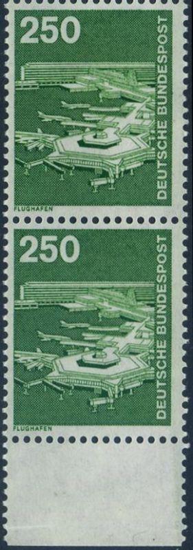 BUND 1982 Michel-Nummer 1137 postfrisch vert.PAAR RAND unten