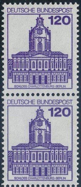 BUND 1982 Michel-Nummer 1141 postfrisch vert.PAAR