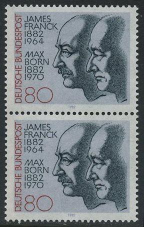 BUND 1982 Michel-Nummer 1147 postfrisch vert.PAAR