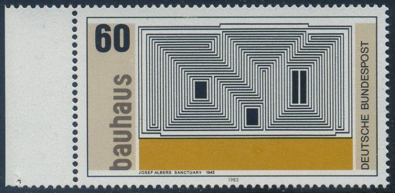 BUND 1983 Michel-Nummer 1165 postfrisch EINZELMARKE RAND links