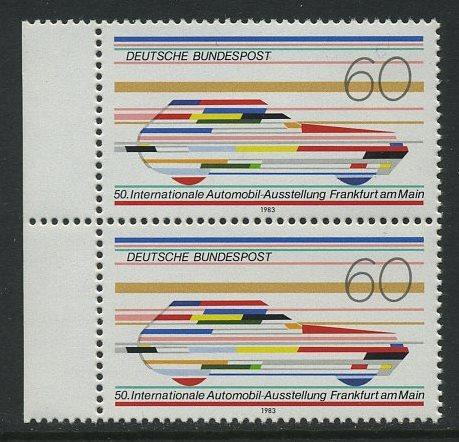 BUND 1983 Michel-Nummer 1182 postfrisch vert.PAAR RAND links