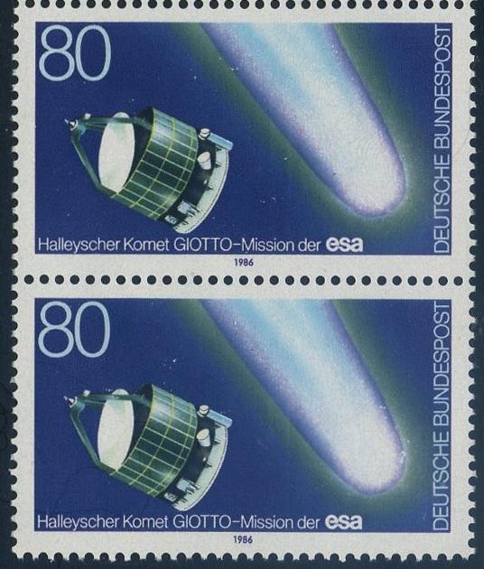 BUND 1986 Michel-Nummer 1273 postfrisch vert.PAAR