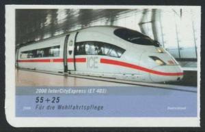BUND 2006 Michel-Nummer 2567 postfrisch EINZELMARKE (g) -aus MH/selbstklebend-