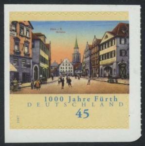 BUND 2007 Michel-Nummer 2584 postfrisch EINZELMARKE (d) -aus MH/selbstklebend-