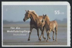 BUND 2007 Michel-Nummer 2635 postfrisch EINZELMARKE (c) -aus MH/selbstklebend-