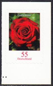 BUND 2008 Michel-Nummer 2675 postfrisch EINZELMARKE (b) -aus MH/selbstklebend-
