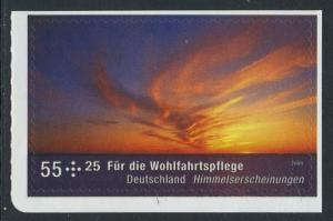 BUND 2009 Michel-Nummer 2717 postfrisch EINZELMARKE (b) -aus MH/selbstklebend-