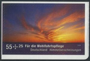 BUND 2009 Michel-Nummer 2717 postfrisch EINZELMARKE (d) -aus MH/selbstklebend-