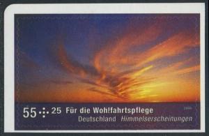 BUND 2009 Michel-Nummer 2717 postfrisch EINZELMARKE (e) -aus MH/selbstklebend-