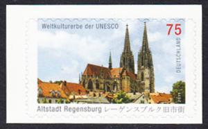 BUND 2011 Michel-Nummer 2850 postfrisch EINZELMARKE (a) -aus MH/selbstklebend-