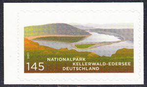 BUND 2011 Michel-Nummer 2863 postfrisch EINZELMARKE (a) -aus MH/selbstklebend-