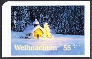 BUND 2012 Michel-Nummer 2966 postfrisch EINZELMARKE (a) -aus MH/selbstklebend-