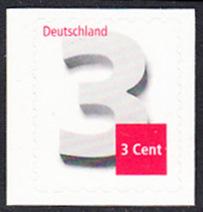 BUND 2012 Michel-Nummer 2967 postfrisch EINZELMARKE (a) -aus MH/selbstklebend-