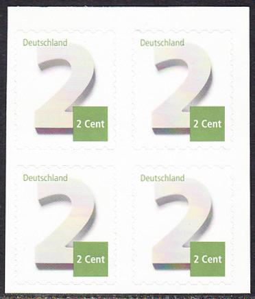 BUND 2013 Michel-Nummer 3045 postfrisch BLOCK (b) -aus MH/selbstklebend-