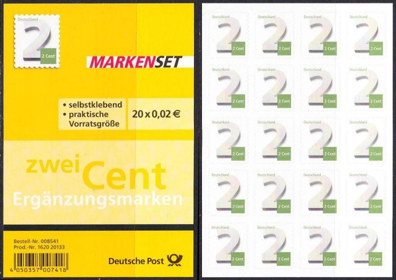 BUND 2013 Michel-Nummer 3045 postfrisch Markenheft(20)