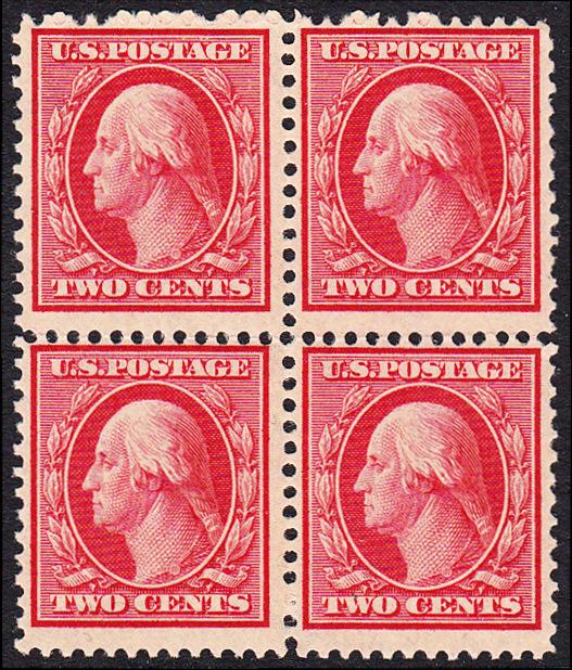 USA Michel 163 / Scott 332 postfrisch BLOCK - George Washington