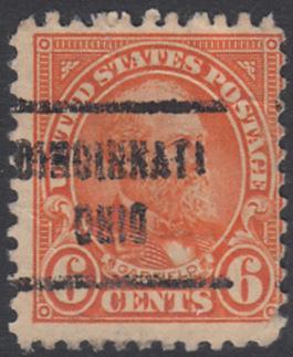USA Michel 268 / Scott 558 postfrisch EINZELMARKE precancelled - Persönlichkeiten und Landesmotive: James A. Garfield