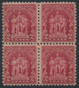USA Michel 319 / Scott 680 postfrisch BLOCK (a2) - 135. Jahrestag der Schlacht von Fallen Timbers, Ohio
