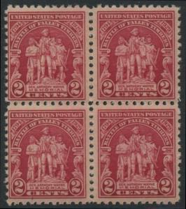 USA Michel 319 / Scott 680 postfrisch BLOCK (a4) - 135. Jahrestag der Schlacht von Fallen Timbers, Ohio