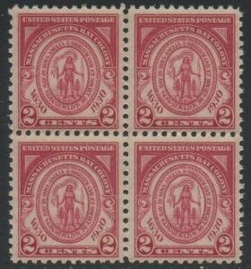 USA Michel 324 / Scott 682 postfrisch BLOCK (a2) - 300. Jahrestag der Gründung der Massachusetts Bay Colony