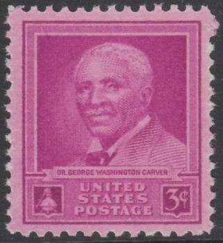 USA Michel 565 / Scott 953 postfrisch EINZELMARKE - George Washington Carver: Chemiker und Philanthrop