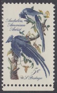 USA Michel 854 / Scott 1241 postfrisch EINZELMARKE RAND unten (a1) - John James Audubon; Zeichner und Ornithologe
