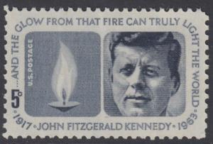 USA Michel 860 / Scott 1246 postfrisch EINZELMARKE - John Fitzgerald Kennedy, 35. Präsident
