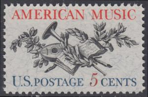 USA Michel 867 / Scott 1252 postfrisch EINZELMARKE - Amerikanische Musik; 50 Jahre Amerikanische Vereinigung der Komponisten, Textdichter und Verleger (ASCAP)