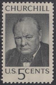 USA Michel 880 / Scott 1264 postfrisch EiNZELMARKE - Winston Spencer Churchill; britischer Politiker, Nobelpreis 1953