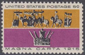 USA Michel 881 / Scott 1265 postfrisch EINZELMARKE - 750. Jahrestag der Erklärung der Magna Carta