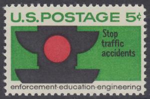 USA Michel 888 / Scott 1272 postfrisch EINZELMARKE - Verkehrssicherheit: Verkehrsampel