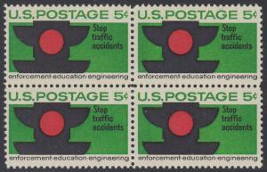 USA Michel 888 / Scott 1272 postfrisch BLOCK - Verkehrssicherheit: Verkehrsampel
