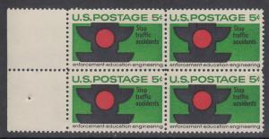 USA Michel 888 / Scott 1272 postfrisch BLOCK RÄNDER links - Verkehrssicherheit: Verkehrsampel
