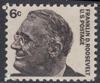 USA Michel 894 / Scott 1284 postfrisch EINZELMARKE - Berühmte Amerikaner: Franklin Delano Roosevelt, 32. Präsident
