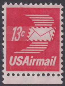 USA Michel 1125A / Scott C079 postfrisch Luftpost-EINZELMARKE RAND unten - Luftpostbrief
