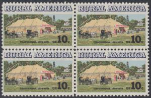 USA Michel 1154 / Scott 1505 postfrisch BLOCK - Ländliches Amerika: Versammlungszelt der Chautauqua-Organisation (religiöse Ferienschule)