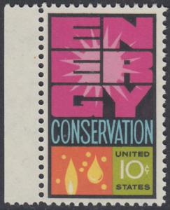 USA Michel 1156 / Scott 1547 postfrisch EINZELMARKE RAND links - Weltenergiekonferenz