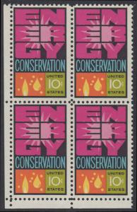 USA Michel 1156 / Scott 1547 postfrisch BLOCK ECKRAND unten links - Weltenergiekonferenz