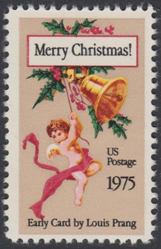 USA Michel 1189 / Scott 1580 postfrisch EINZELMARKE - Weihnachten 0