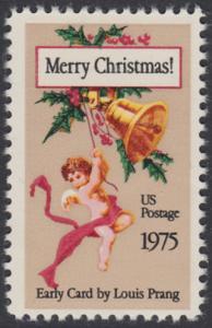 USA Michel 1189 / Scott 1580 postfrisch EINZELMARKE - Weihnachten