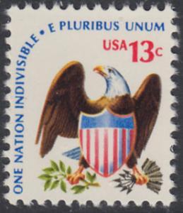 USA Michel 1196 / Scott 1596 postfrisch EINZELMARKE - Americana-Ausgabe: Adler mit Wappenschild