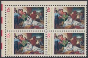 USA Michel 1289 / Scott 1701 postfrisch BLOCK ECKRAND oben links - Weihnachten; Geburt Christi