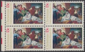 USA Michel 1289 / Scott 1701 postfrisch BLOCK RÄNDER links - Weihnachten; Geburt Christi