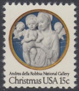 USA Michel 1368 / Scott 1768 postfrisch EINZELMARKE - Weihnachten: Madonna und Kind