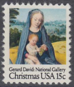 USA Michel 1402 / Scott 1799 postfrisch EINZELMARKE - Weihnachten: Madonna mit Kind