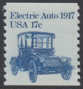 USA Michel 1492 / Scott 1906 postfrisch EINZELMARKE - Fahrzeuge: Elektroauto