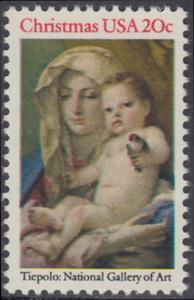 USA Michel 1606 / Scott 2026 postfrisch EINZELMARKE - Weihnachten: Madonna und Kind