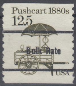 USA Michel 1748 / Scott 2133 postfrisch EINZELMARKE precancelled (a05) - Fahrzeuge: Handkarren